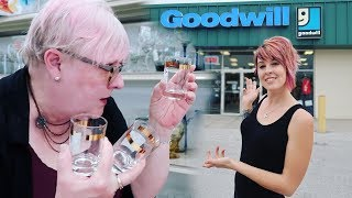 Thrift with Us for Resale Treasures at Goodwill   Buying & Reselling