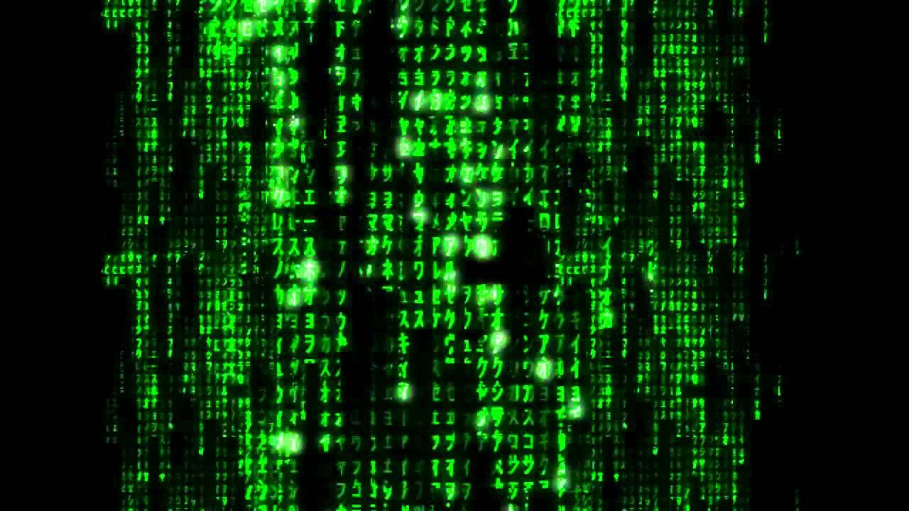 matrix code text