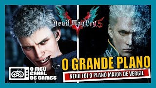 SOLUCIONANDO O MISTÉRIO VERGIL: O PERSONAGEM MAIS ENIGMÁTICO DO MUNDO DOS GAMES [DMC5]