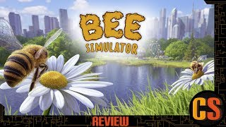 BEE SIMULATOR - PS4 REVIEW (Video Game Video Review)
