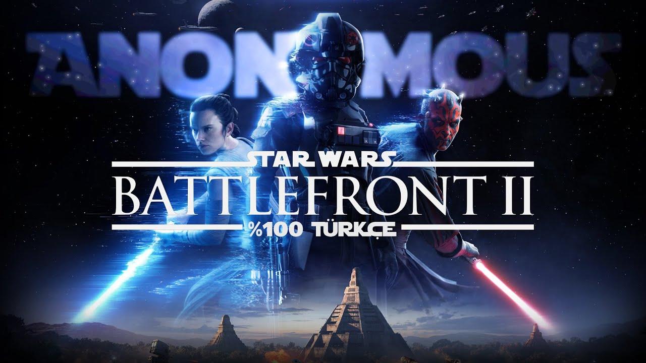 Star Wars: Battlefront 2'nin Türkçe Yama Çalışmasından Oynanış Videosu Geldi!