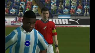 World Tour Soccer 06 (PS2) Manchester United vs Brighton & Hove Albion