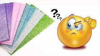 Best Use of Glitter Foam Sheet   Amazing Idea   Crafts Junction