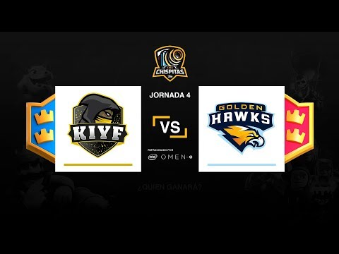Liga Chispitas IV - Kiyf Snow VS Golden Hawks - Jornada 4