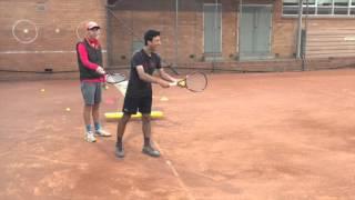 Fixing Low Elbow on Tennis Serve