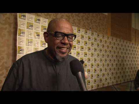 Black Panther: Forest Whitaker Comic-Con 2017 Movie Interview