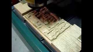 Cirri Scanned Indian Carving Cut On Cnc