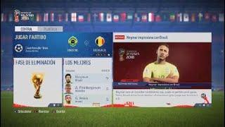 Bélgica próximo PARTIDO|FIFA WORLD CUP RUSSIA 2018 (encargado de PS4)