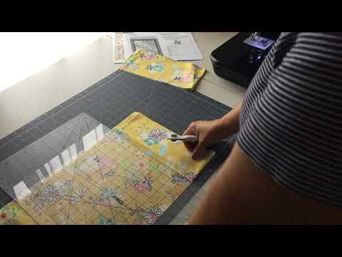 How to Cut the Wide Quilt Border