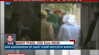Bar Association of Saket court boycotts Delhi gangrape accused