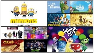 Video Top 10 Best Animated Movies of 2015 worth watching download MP3, 3GP, MP4, WEBM, AVI, FLV Juni 2018