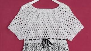 Büyükler İçin Robalı Elbise #2 - Roba Yapımı