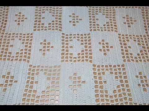 Centrotavola Rettangolare All Uncinetto Schemi.Crochet Uncinetto Centro Tavola Tutorial Passo A Passo Cuore Youtube
