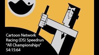 Alle% Cartoon Network Racing DS: ''Alle Meisterschaften'' Eine 54:15:64 (WR)