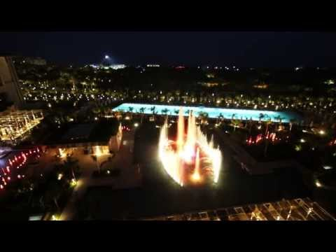 Regnum Carya Golf&SPA Resort- Fountain Show /Su ve Işık Şovu