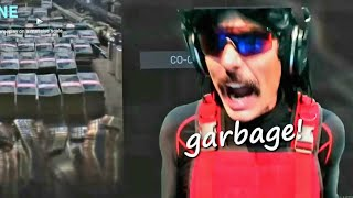 DrDisrespect RAGES at Warzone Solos and Calls it 'Garbage'.