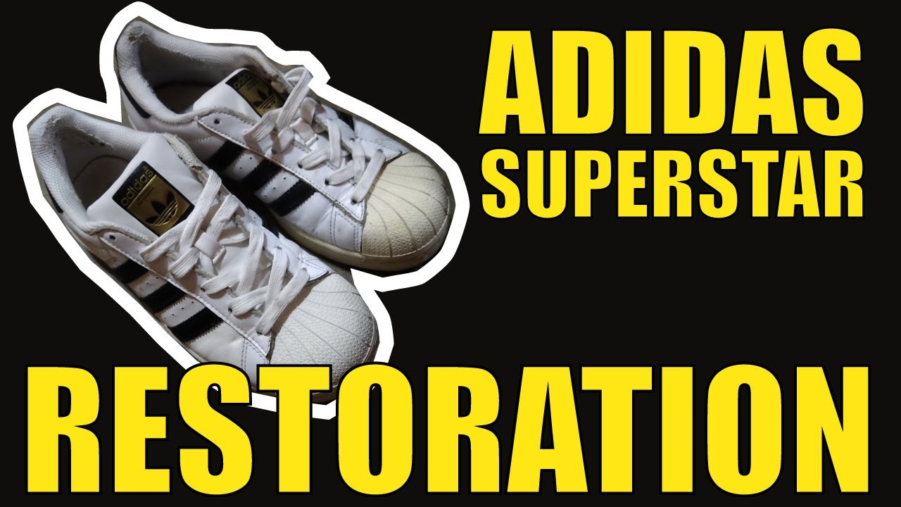 Restore Adidas Superstar Shoes