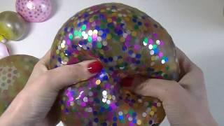 balles anti-stress avec des ballons c'est trop cool