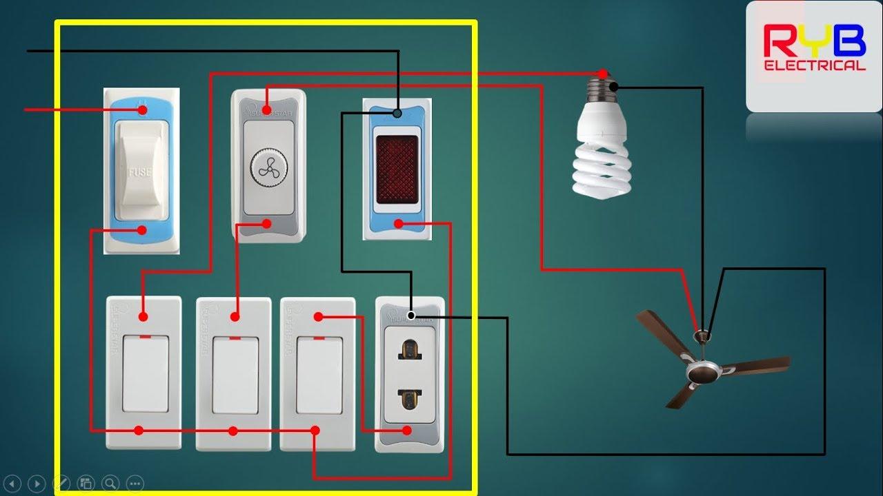 House Wiring Electrical Main Board