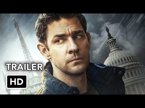Tom Clancy's Jack Ryan (Amazon) Super Bowl Trailer HD - John Krasinski action series