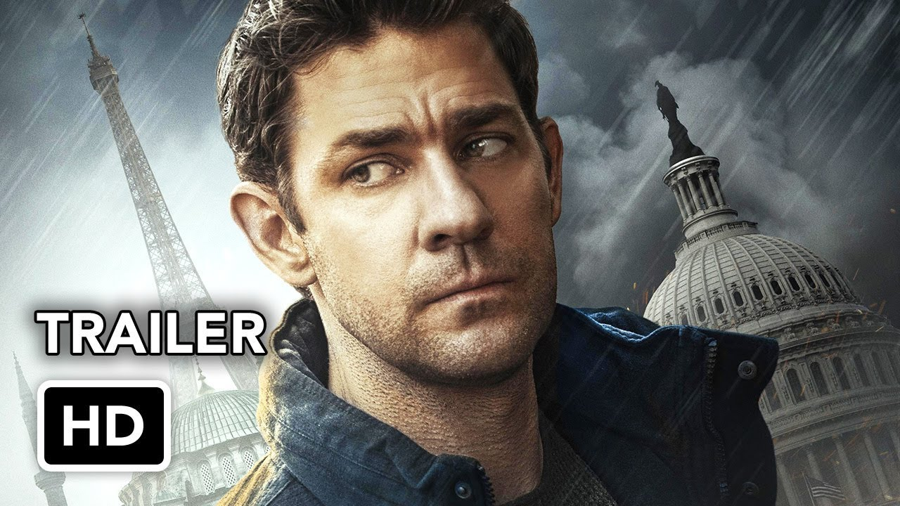 Tom Clancy's Jack Ryan (Amazon) Super Bowl Trailer HD - John Krasinski action series
