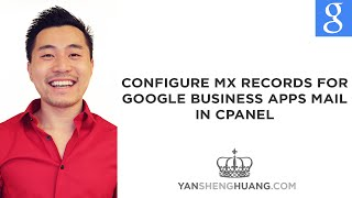 Google Apps Tutorial: How to Configure MX Records for Google Mail / Gmail in Cpanel
