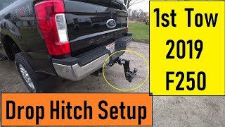 2019 F250 Hitch and 1st RV Test Tow
