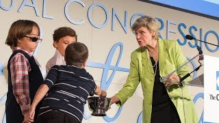 CEO and Trustee at The Children's Inn at NIH Recall Last Conversations with Cokie Roberts