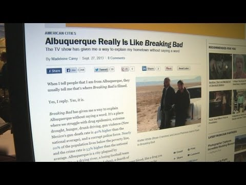 Is Albuquerque the real Breaking Bad?