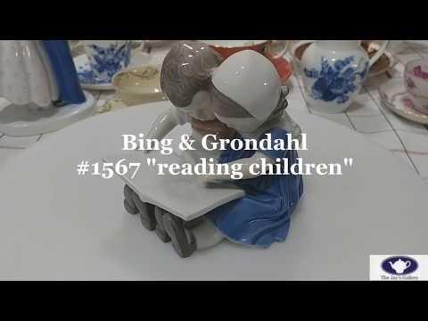 [antique] 빙앤그론달 피겨린 Bing & Grondahl