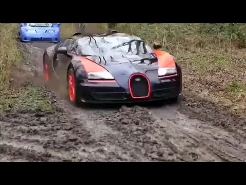 When SUPERCARS Go Off-Roading ! ! !