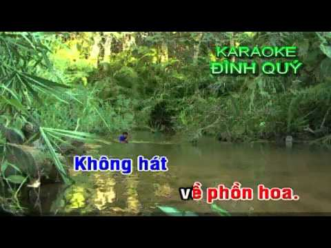 KARAOKE TC RUNG LA THAP NGAN CHAU SONG CA 1