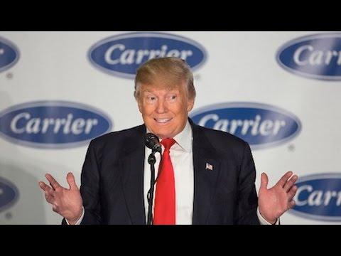 Trump's Carrier Deal: Job Saver Or Photo Op?