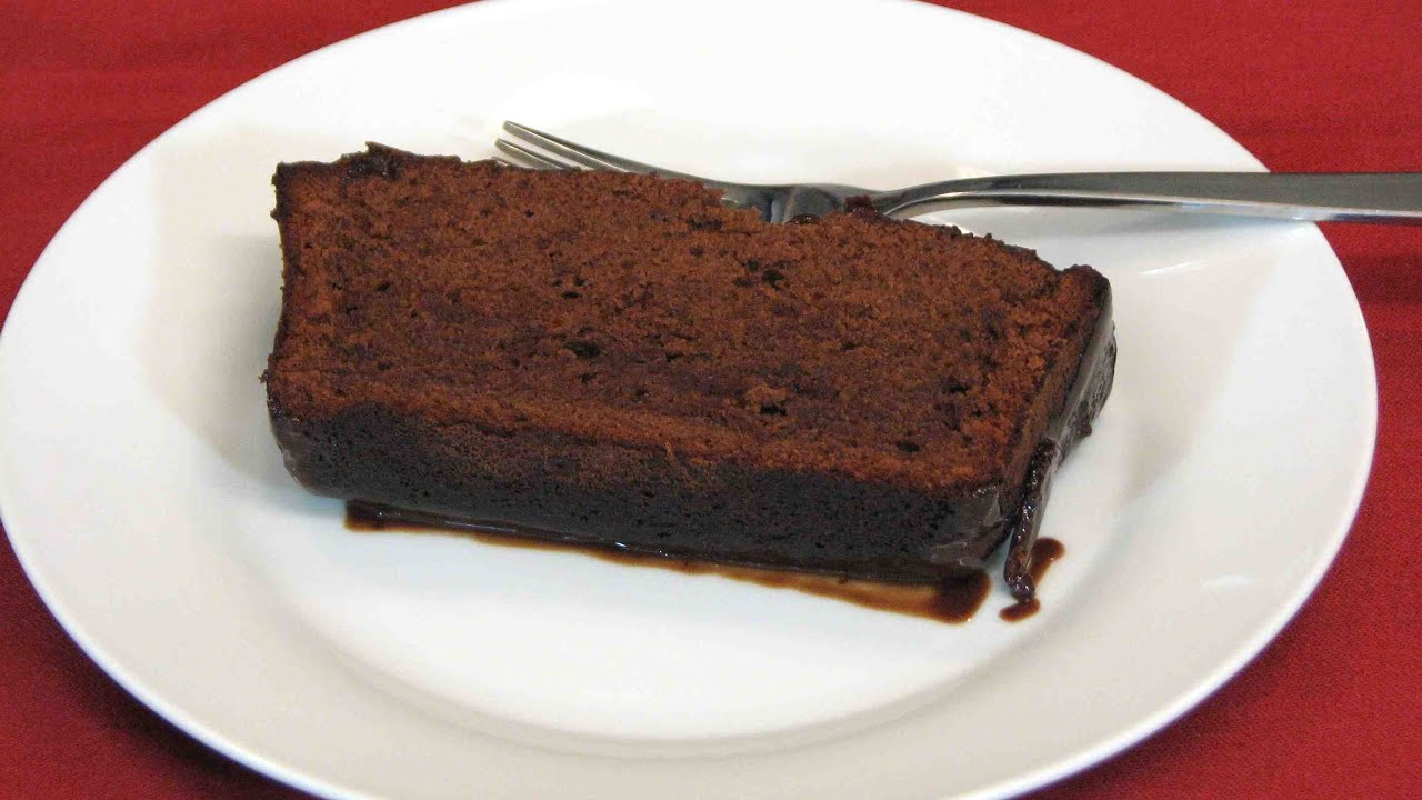 Chocolate Pound Cake With Chocolate Ganache Lynn S Recipes Youtube
