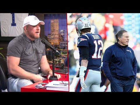 Pat McAfee Reacts To The Reason Why Tom Brady Left The Patriots