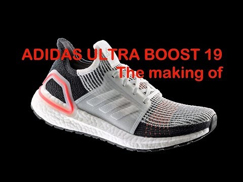 Adidas Ultra Boost 2019 running shoes. The making of ecf6785ed