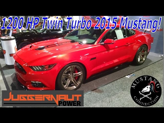 1200 Hp Twin Turbo Alpha Male 2015 Mustang By Juggernaut Power Mustang Connection