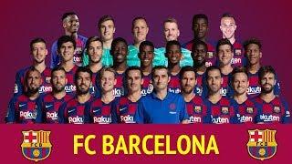 Fc barcelona offiicial squad 2019-20