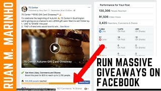 How To Run A MASSIVE Facebook Giveaway With Facebook ADS