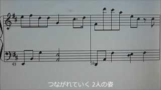クラビノーバ楽譜表示機能を使いました.