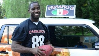 Pierre Garcon The Paisanos Pizza Delivery Man(, 2013-08-27T23:22:27.000Z)