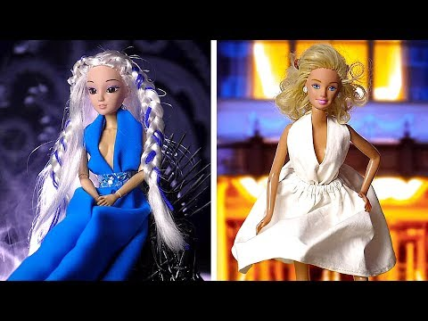 39 HACKS TO MAKE YOUR BARBIE A REAL QUEEN