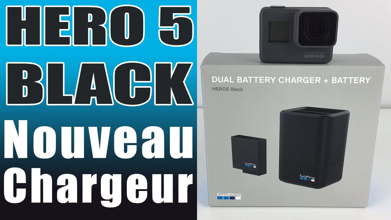 chargeur batterie gopro 5