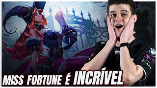 Seria MISS FORTUNE a AD Carry mais DIVERTIDA DO JOGO? | Kami