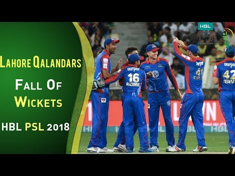Lahore Qalandars Fall Of Wickets | Karachi Kings Vs Lahore Qalandars | Match 8 | HBL PSL 2018 thumbnail
