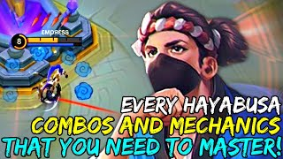 Every Hayabusa Combo and Mechanics You Need To Know and Master! | Mobile Legends