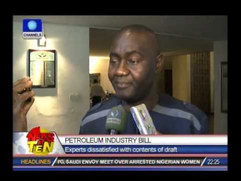 Experts express discontentment with contents of Petroleum Industry Bill