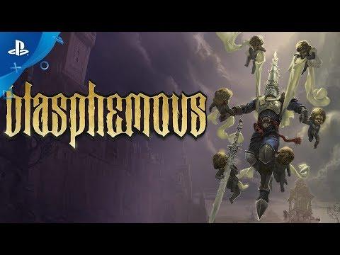 Blasphemous - Launch Trailer   PS4