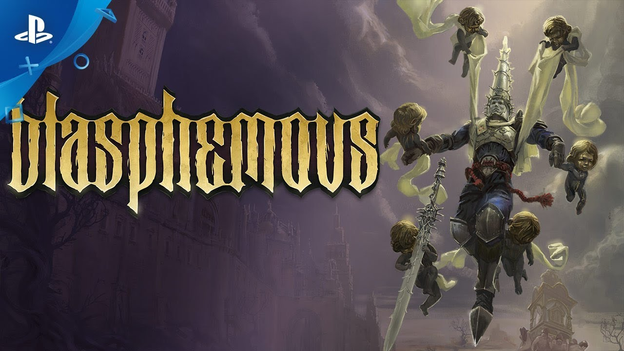 Blasphemous - Launch Trailer | PS4