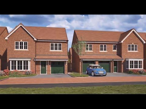Miller Homes - Heathlands, Sandbach, Cheshire CGI Development Tour